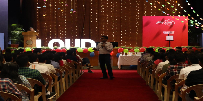 Godrej LOUD: A competition by Godrej Group of Industries.